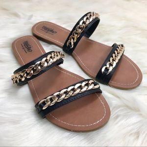 Mossimo Chains and Straps Sandals